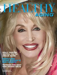 healthy aging magazine dolly parton cover