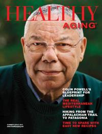 healthy aging magazine colin powell cover